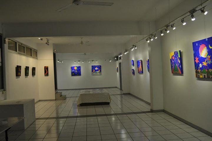 Exposition Luigi Pacifico, à la Galerie Arte Bello 2015