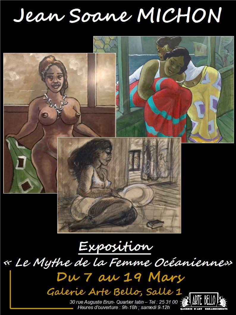 Affiche, exposition Jean Michon