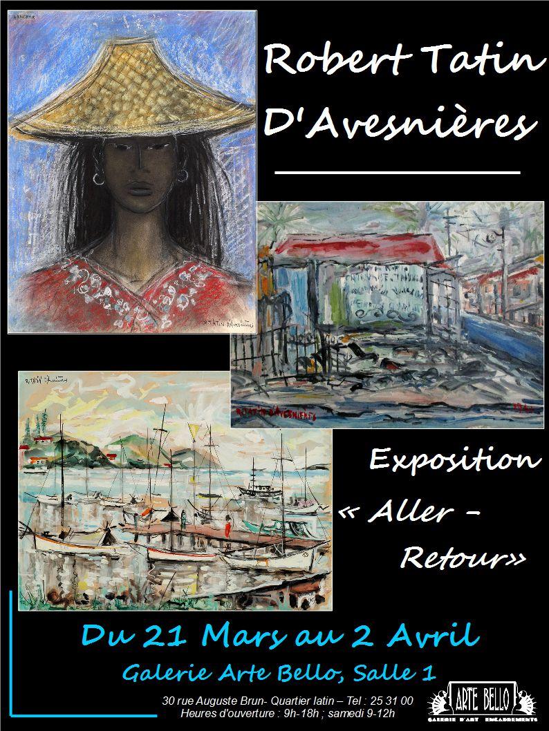 Affiche, exposition Robert Tatin D'avesniere