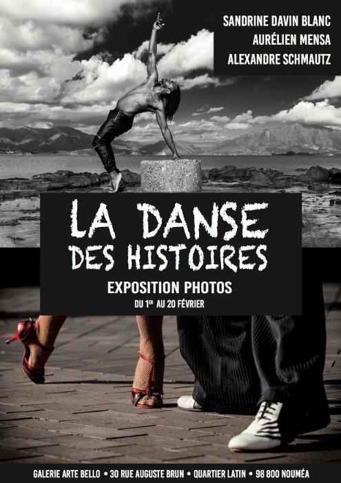 Affiche, la danse des histoires