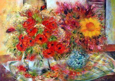 Caroline Degroiselle, Bouquet d'un matin sourire 40P