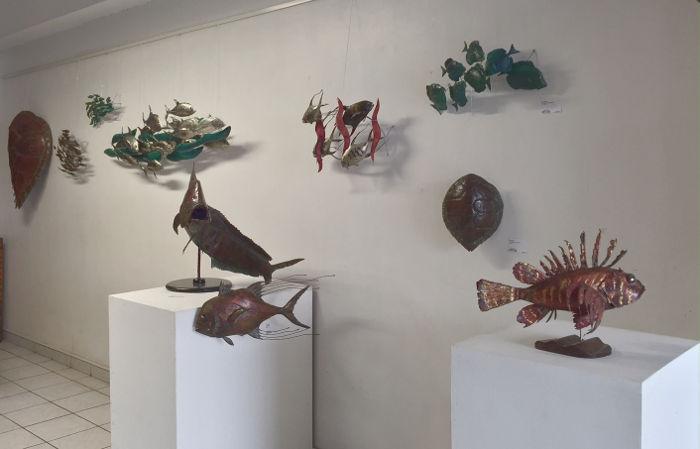 Douglas Hazelton, Installation à la galerie Arte Bello 2