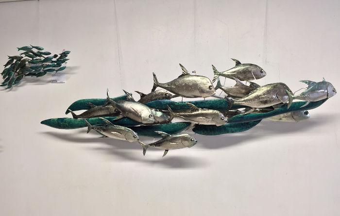 Douglas Hazelton, Installation à la galerie Arte Bello