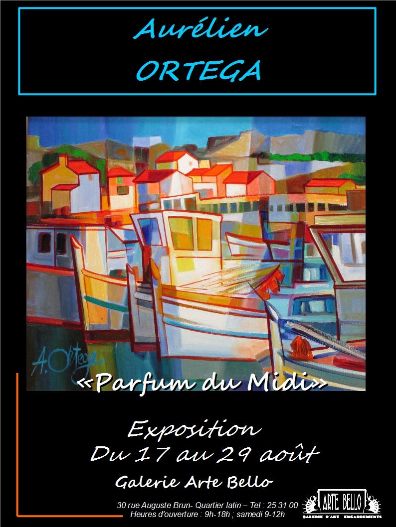 Expo Ortega, affiche