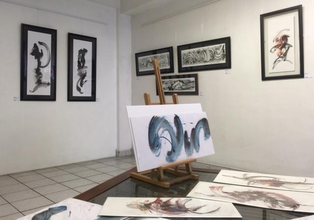 Isabelle Rouballay, installation