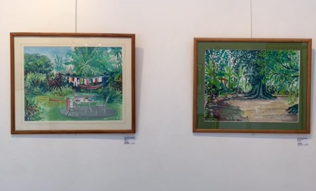 Robert Tatin D'avesnières, installation