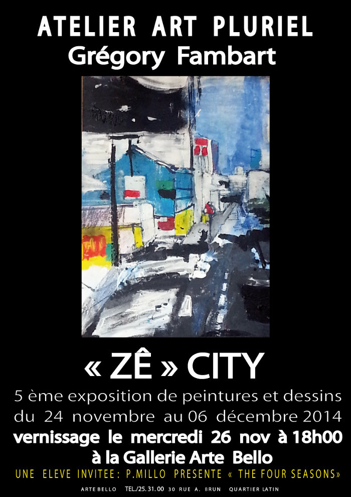 Gregory Fambart, affiche