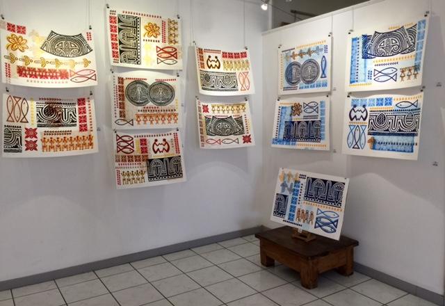 Isabelle STARON TUTUGORO, installation 2