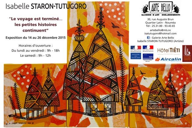 Isabelle Staron Tutugoro, Affiche