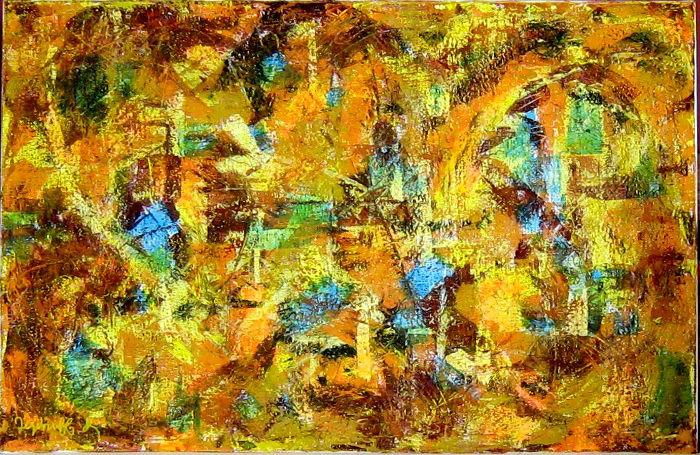 Jezebruff Kabradinsky, Acrylique sur toile 2004