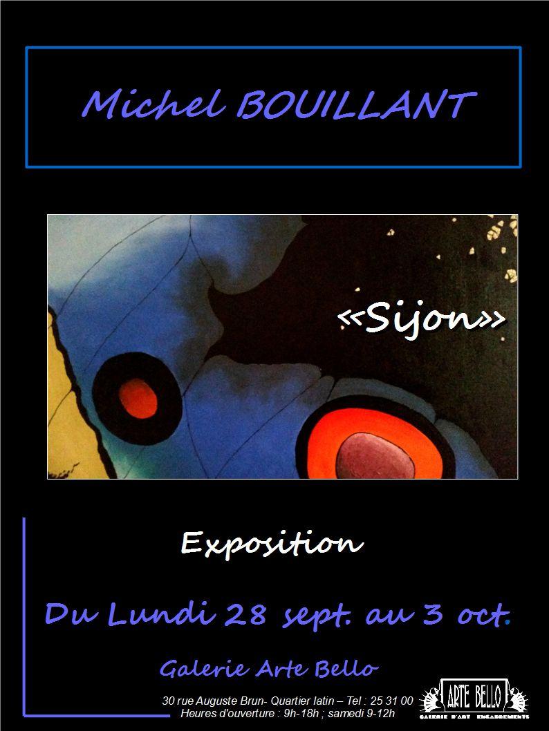 Michel Bouillant, Affiche