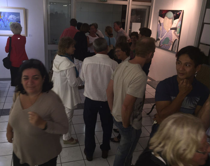 Moulimois, vernissage 1