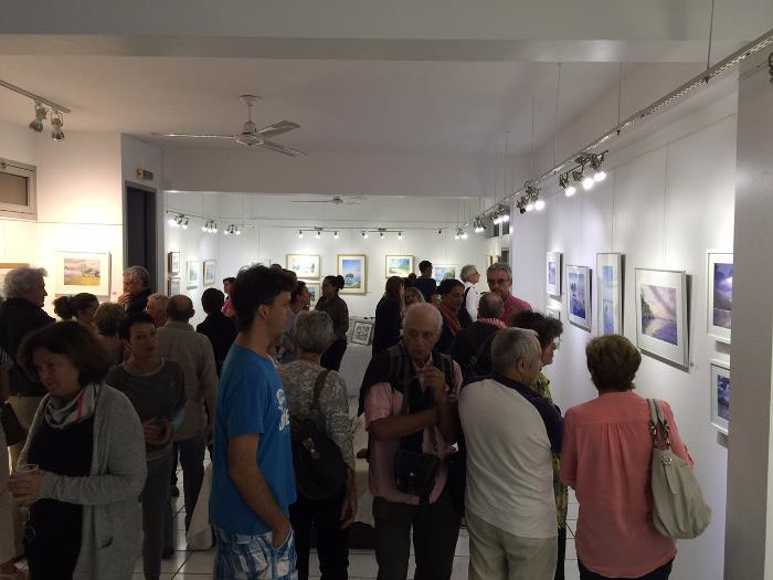 Nocolas Cadic, Vernissage Galerie Arte Bello 2