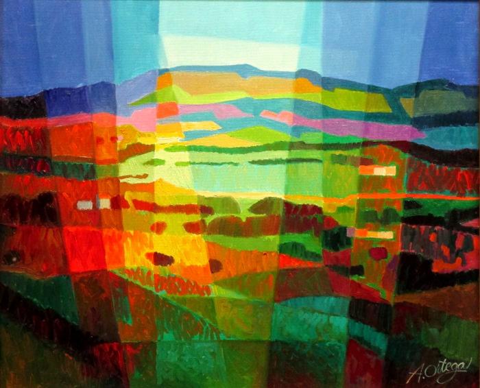 Ortega, paysage