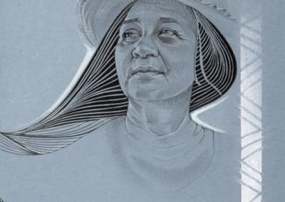 Raina, mamie au chapeau, 230x310, Pa-TM