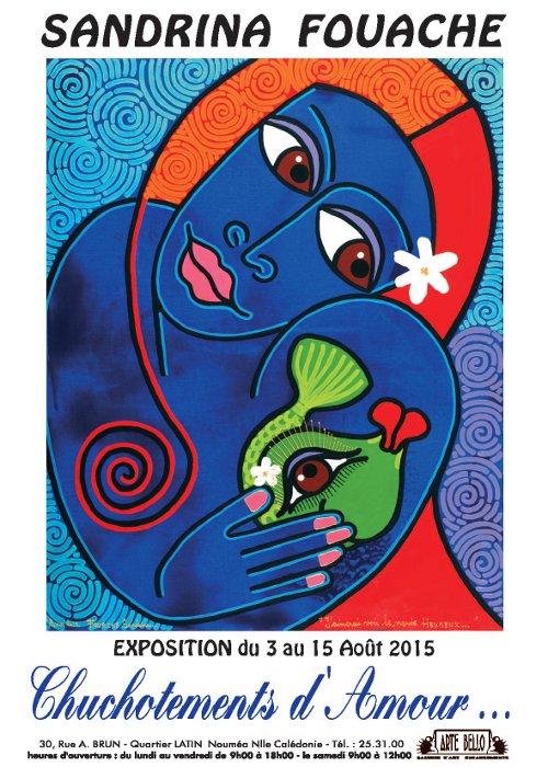 Sandrina Fouache, affiche