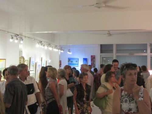 Vernissage à la galerie arte bello 2014 12 08 Asso Arcane