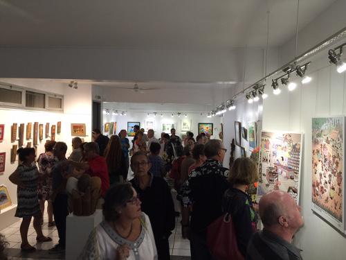 Vernissage Arcane, à la Galerie Arte Bello