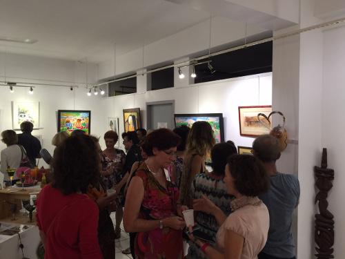Vernissage Arcane 1, à la Galerie Arte Bello