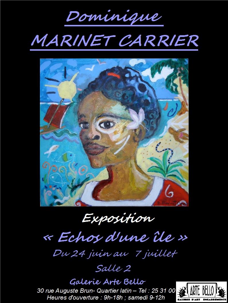 affiche, Dominique Marinet Carrier