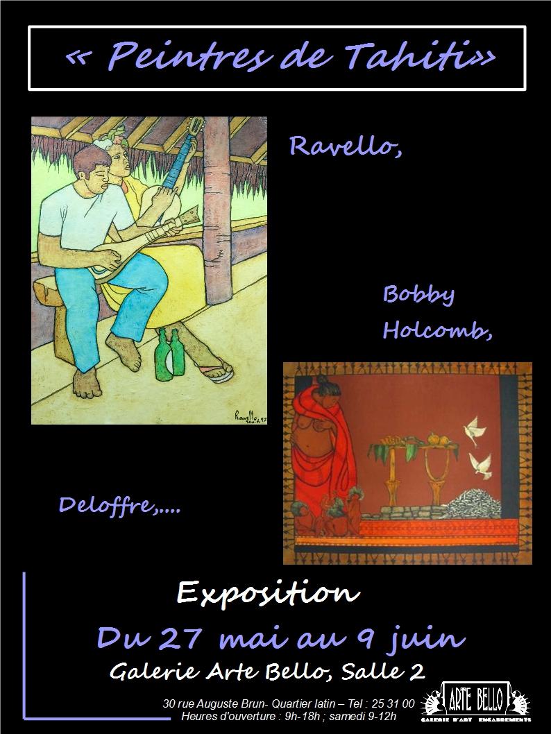 affiche, peintres de Tahiti