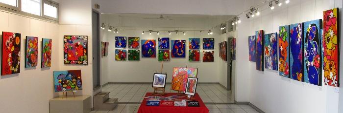 Sandrina Fouache, installation