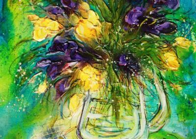 Caroline Degroiselle, Iris en envol papillon 2882-8F-AC