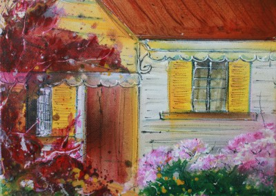 Caroline Degroiselle, Maison de mon coeur fleuri 3555-AC-3F