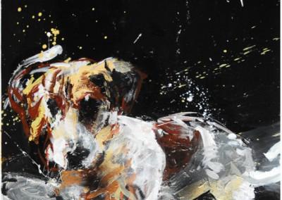 Grégory Fambart, chien