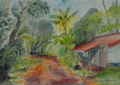 Nicolas Cadic, Village de Prony, Aq